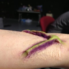 "Alien veins for the film ""Case 54"""